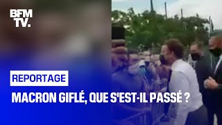 Macron giflé, que s'est-il passé ?