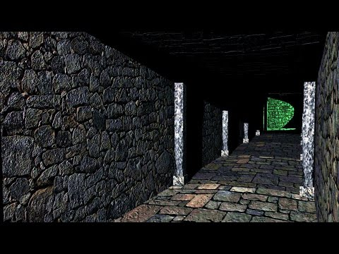 Maya 2016 tutorial : How to create a Game environment ( Dungeon )