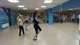 Классическая хореография фрагмент урока 2 Тазовой Влады январь 2019