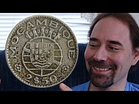 Mozambique 2,50 Escudos 1965 Coin