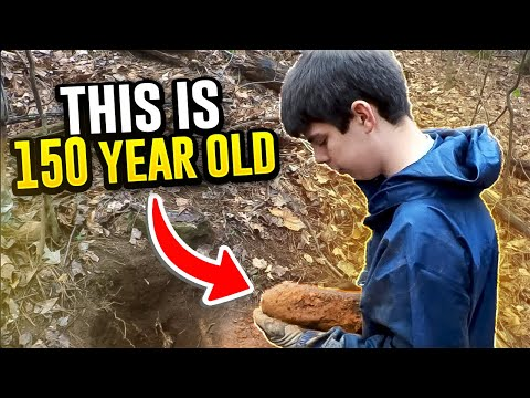Thumbnail: Metal Detecting Finds 150 Year Old LIVE Artillery Shell! Best Dig! From Dirt To Defusing.