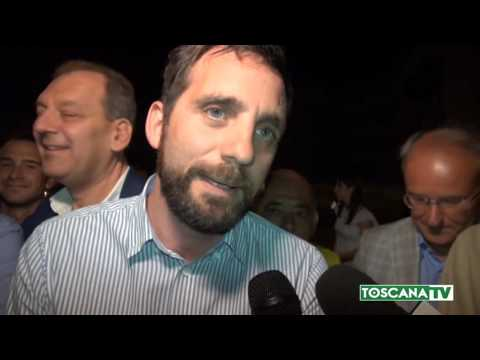 2017-06-26 PISTOIA - A SOPRESA TOMASI (CENTRO DESTRA) NUOVO SINDACO
