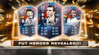 NEW FUT HEROES RATINGS! - FIFA 22 Ultimate Team