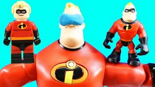 Incredibles 2 Disney Pixar Mr. Incredible Dreams Of Being A Lego Minifigure To Stop Underminer