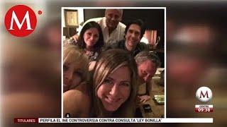 Jennifer Aniston inaugura su Instagram con foto del elenco de 'Friends'