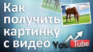 Как получить картинку с видео на #YouTube & Скачать превью видео на #Ютубе....