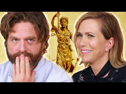 Kristen Wiig & Zach Galifianakis Give Questionable Legal Advice