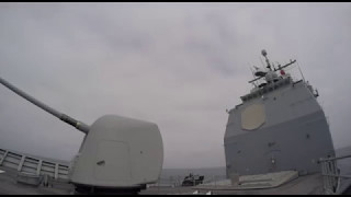 Video: Cruiser USS Lake Erie Launches Missile in Exercise
