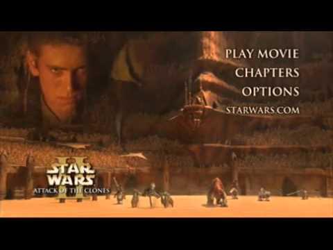 Star Wars Episode II Attack of the Clones DVD Menu 2