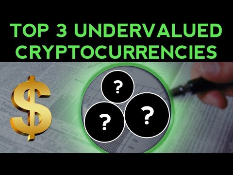 Top 3 MOST UNDERVALUED Cryptocurrencies!