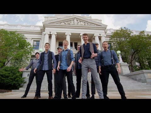 Newsies Medley | One-Shot A Cappella Tribute in 4K! | BYU Vocal Point