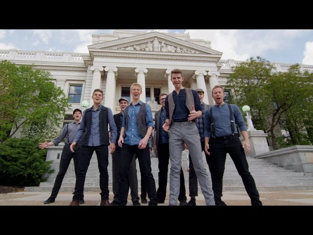 Newsies Medley | BYU Vocal Point  - One-Shot A Cappella Tribute in 4K!