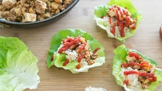 How To Make Asian Lettuce Wraps