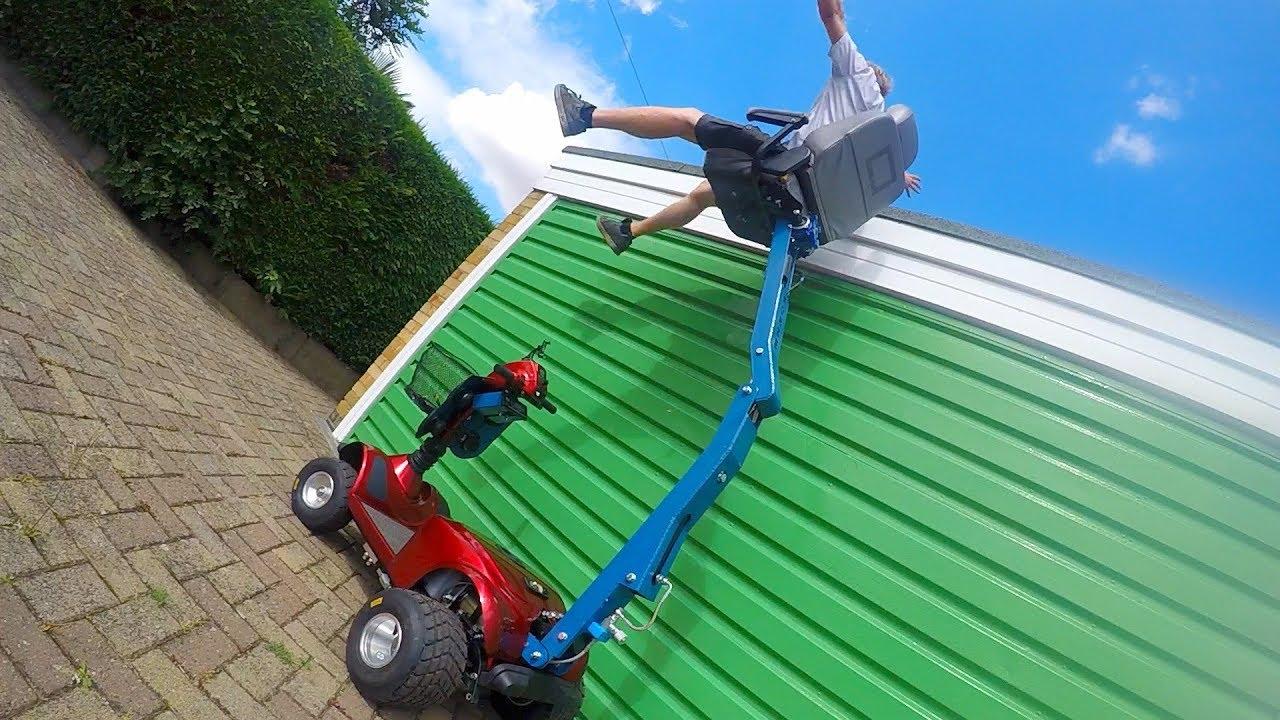 Huge Hydraulic Crane Seat-Scooter Pimp #2