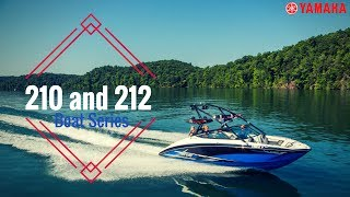 2017 Yamaha 210 and 212 Boat Series