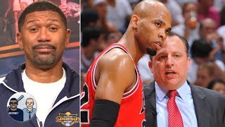 Taj Gibson likes comment calling for Timberwolves to fire coach Tom Thibodeau | Jalen & Jacoby