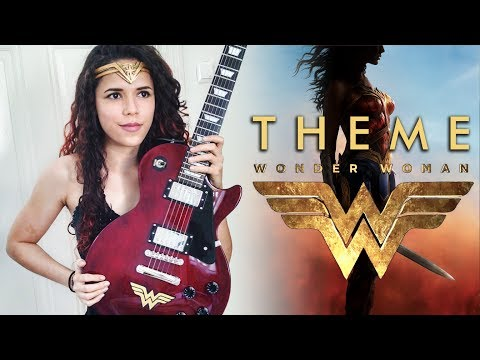 Wonder Woman Theme Guitar Cover | Noelle dos Anjos