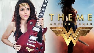 Wonder Woman Theme Guitar Cover   Noelle dos Anjos