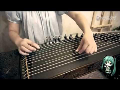 Senbonzakura instrumental Guzheng (chinese zither) version