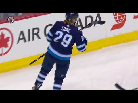 Blake Wheeler puts up 3 assists in Jets' Game 1 win over Golden Knights