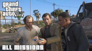 GTA V - All Missions Walkthrough [Graphics Mods] (1080p 60fps)