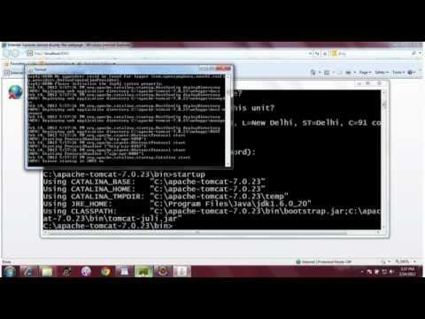 SSL Configuration for Apache Tomcat: Part II