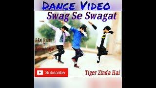 Swag Se Swagat Dance Choreography | Tiger Zinda Hai | Salman Khan | Choreography R Raj Sharma