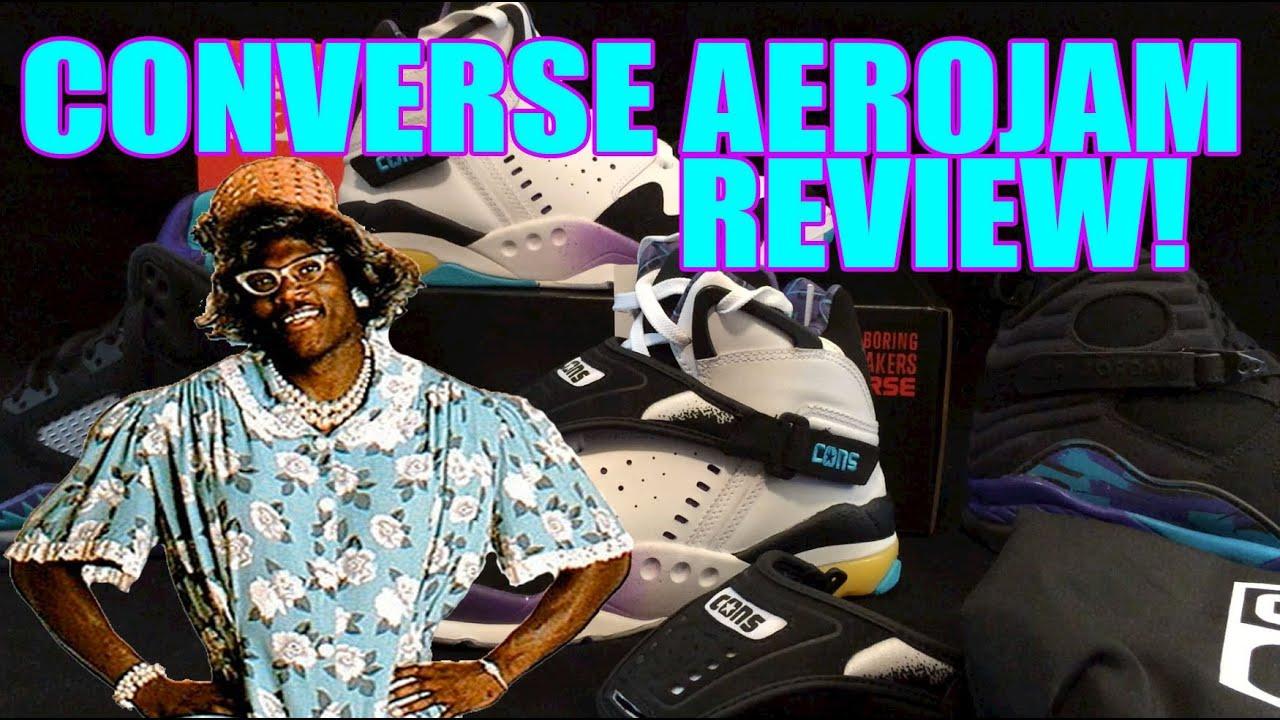 a70cebc39ee251 Converse Aero Jam Retro Review! (Releasing Feb 14th) - YouTube