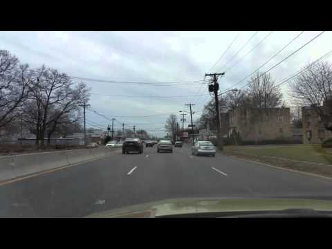 Driving on Route 1-9 by Rahway,New Jersey