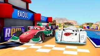 Disney PIXAR CARS Story Race Premiere #2 | Fun Videos for Children