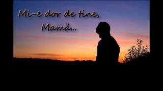 Omul Tău (Neagu Sabin) - Mi-e dor de tine, Mamă (Spiral Prod.)