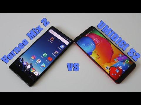 Vernee Mix 2 vs UMIDIGI S2 Comparison & SpeedTest