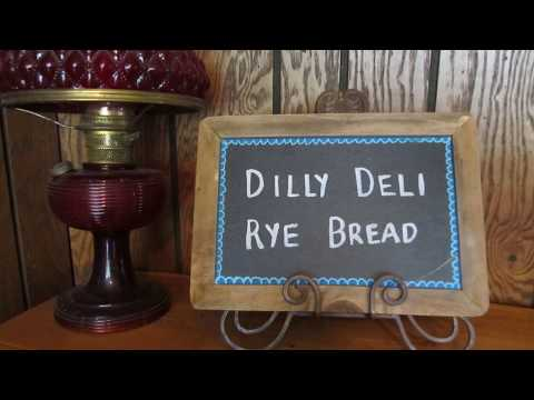 Vonnie's Bread Machine Dilly Deli Rye