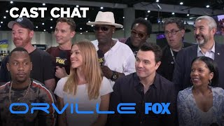 The Cast Of The Orville At Comic-Con 2018 | THE ORVILLE