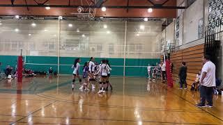 January 28, 2020club kalani volleyball 16u Eddie premiers qualifier at DVC