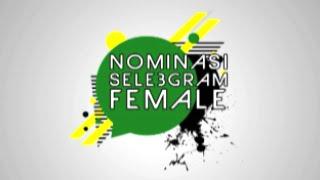 Nominasi Selebgram Female I Sosmed Awards 2016