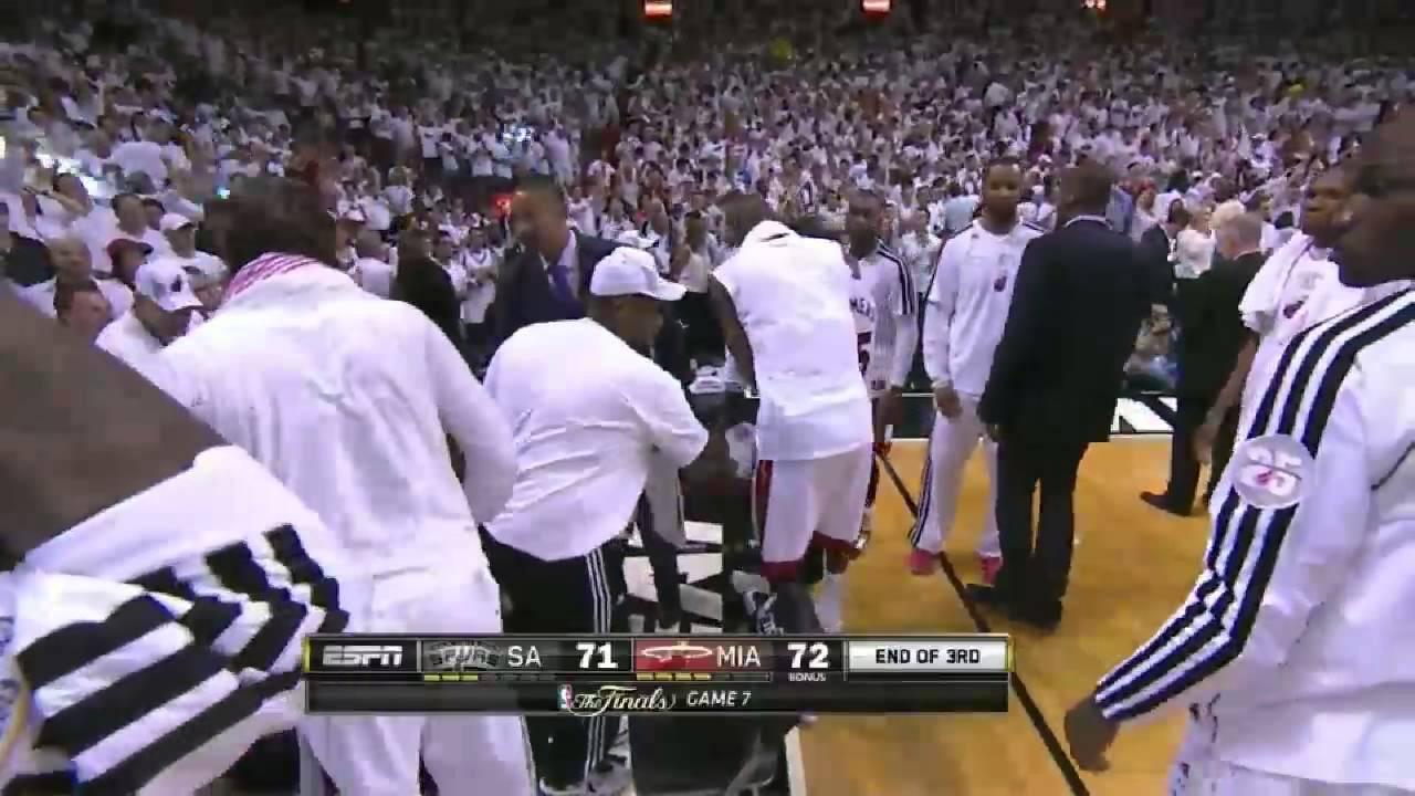 Mario Chalmers Buzzerbeater In Game 7 Vs San Antonio Spurs