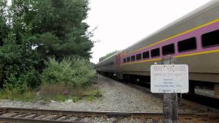 MBCR Trains/CSX Locals at Walpole Station (8/18/10)