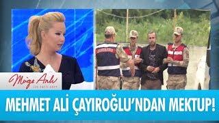 Mehmet Ali Çayıroğlu Müge Anlı'ya mektup gönderdi - Müge Anlı İle Tatlı Sert 25 Eylül 2018