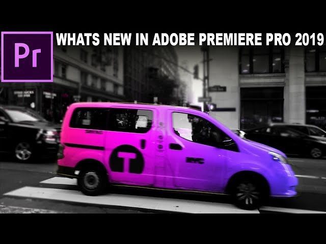 What's New in Adobe Premiere Pro CC 2019