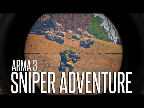 SNIPER ADVENTURE - ArmA 3 King Of The Hill