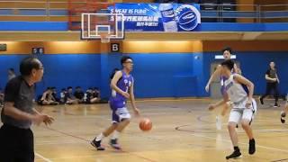 2019全港籃球學界馬拉松 大埔鄉中VS中聖 1