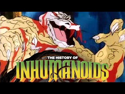 The Gory Story of Inhumanoids: This Was Supposed To Be For Kids?