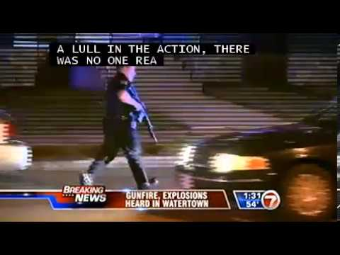 Boston Martial Law - Live Feed from Watertown 4.18.13