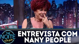 Entrevista com Nany People | The Noite (21/12/17)
