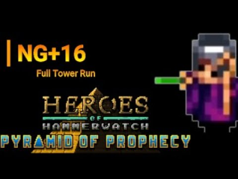 Heroes of Hammerwatch: NG+16 Solo Primary Warlock Run (full run)