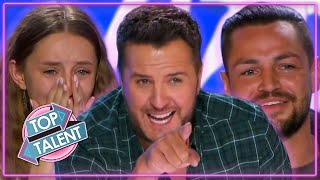 TOP 5 COUNTRY Auditions On American Idol 2021! | Top Talent