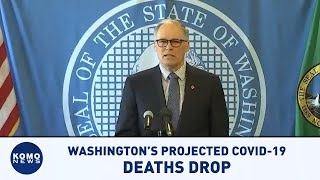 Washington's projected COVID-19 death total could drop 60 percent due to social distancing