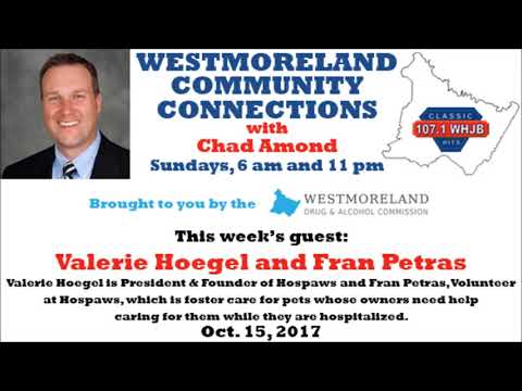 Westmoreland Community Connections - Oct. 15, 2017