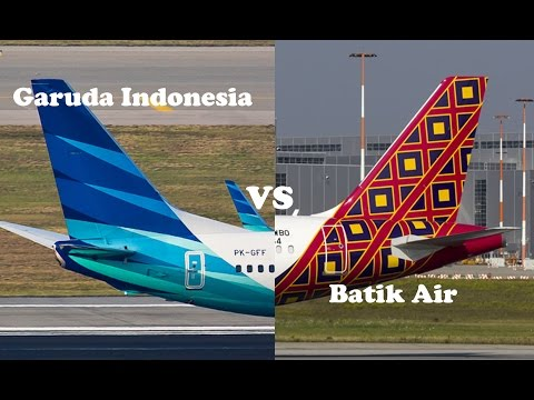 Garuda Indonesia VS Batik Air